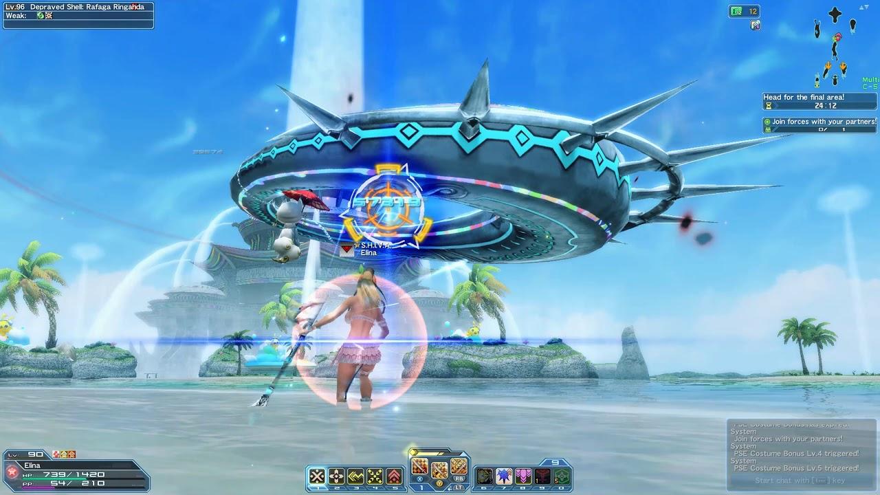 Phantasy Star Online 2 Gameplay
