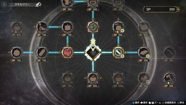Atelier Ryza skill tree