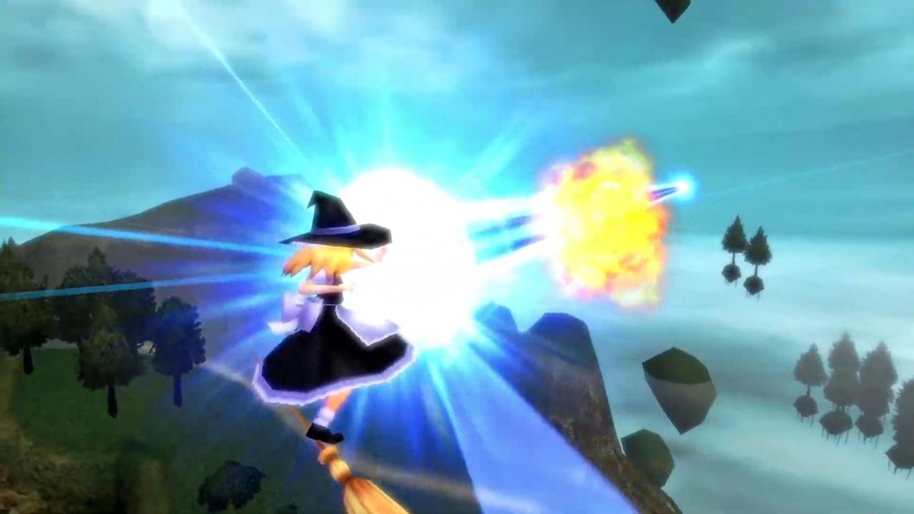 Touhou Sky Arena gameplay