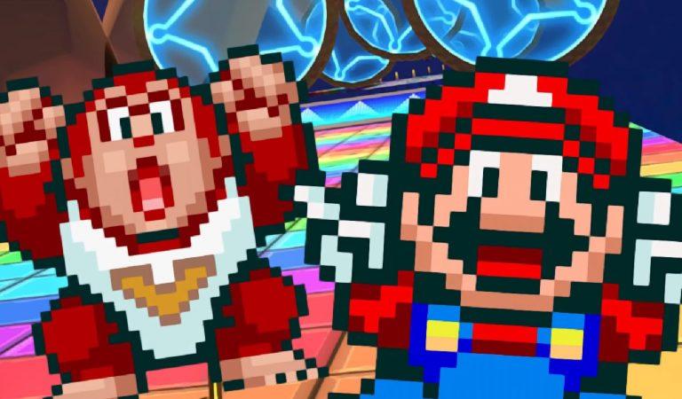 Mario Kart Tour recebe novas versões de Mario e Donkey Kong Jr
