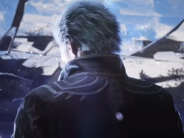 Devil May Cry V Vergil de costas