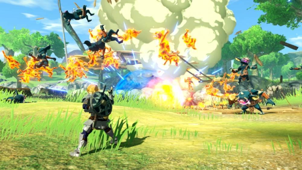 Screenshot de Hyrule Warriors: Age of Calamity