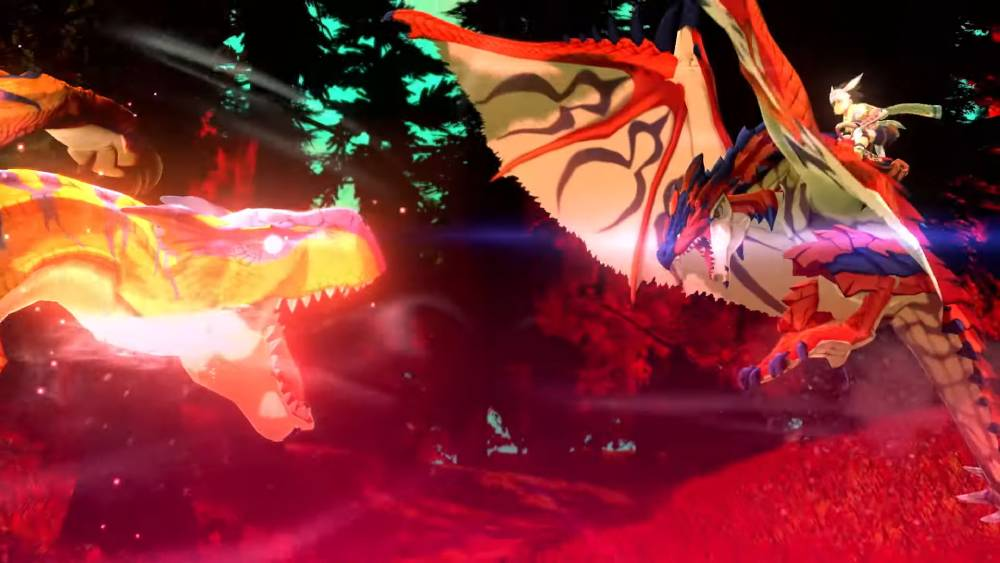 Screenshot de Monster Hunter Stories 2: Wings of Ruin