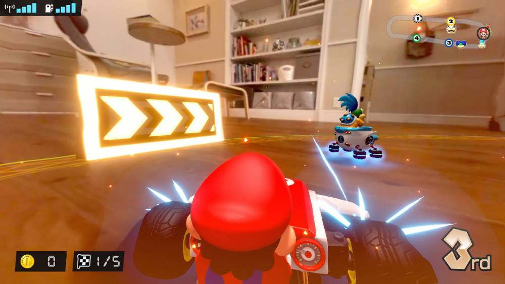 Screenshot de Mario Kart Live: Home Circuit