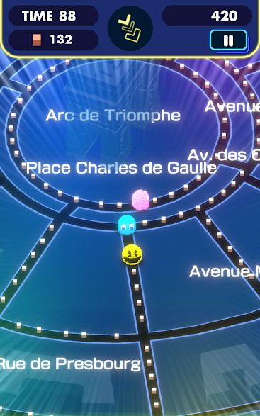 Screenshot de Pac-Man Geo
