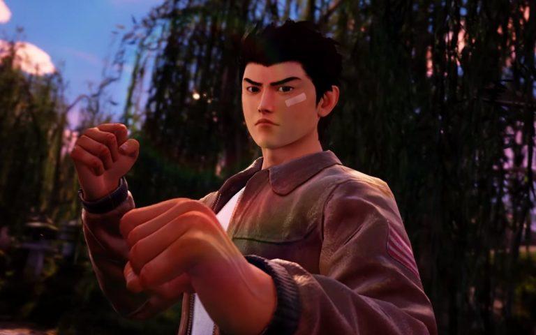 Shenmue Ryo posição de luta