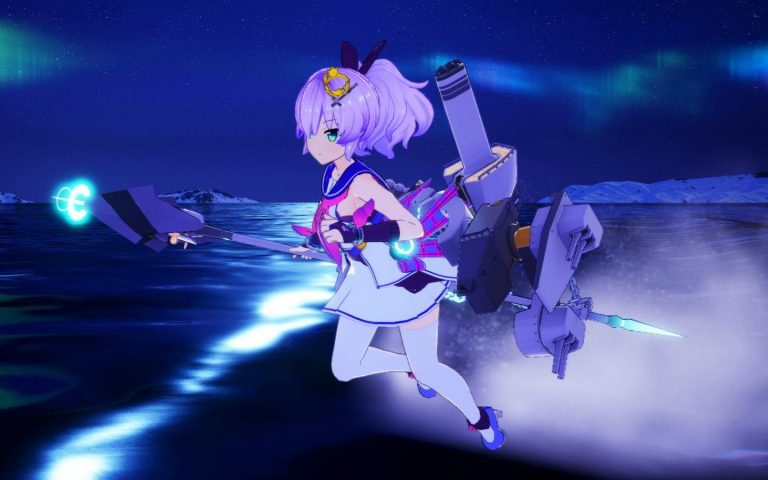 Azur Lane Crosswave glide