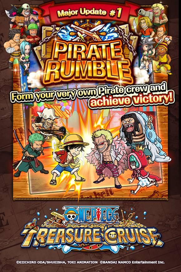 Treasure Cruise pvp