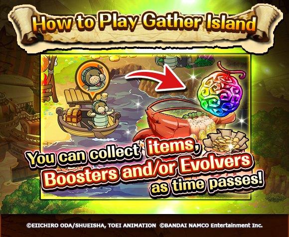 Treasure Cruise gather island