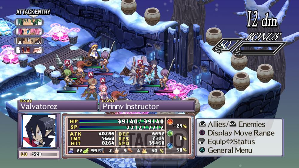 Disgaea 4 Gameplay