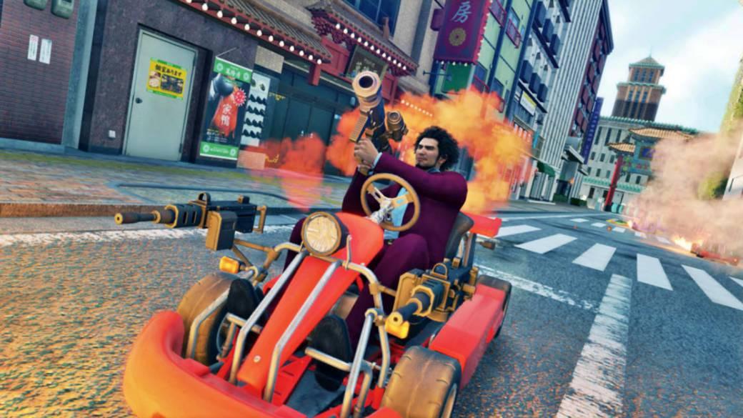 Yakuza Like a Dragon Kart