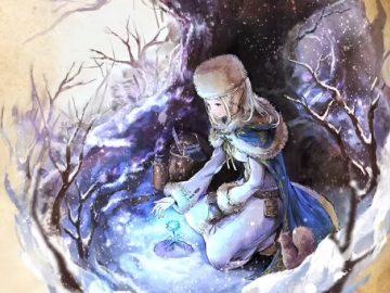 Octopath Traveler Tairiku no Hasha mulher