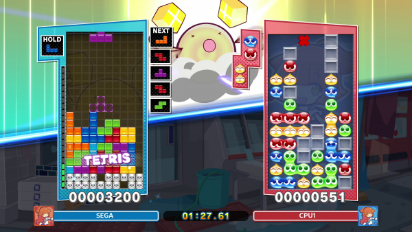 Puyo Puyo Tetris 2 gameplay
