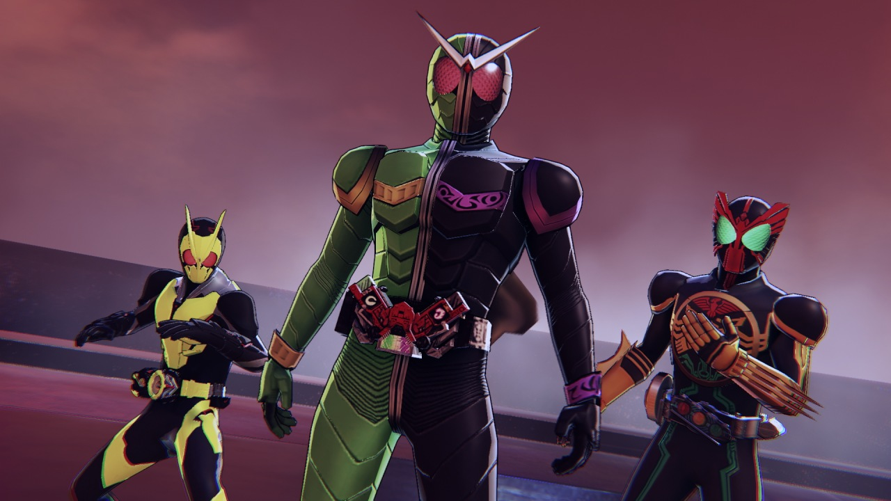 Kamen Rider trio