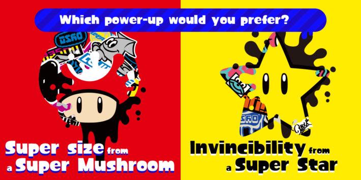 Splatoon 2 Splatfest Mario