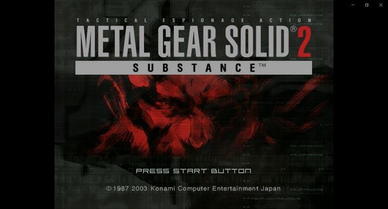 Konami Metal Gear Solid 2