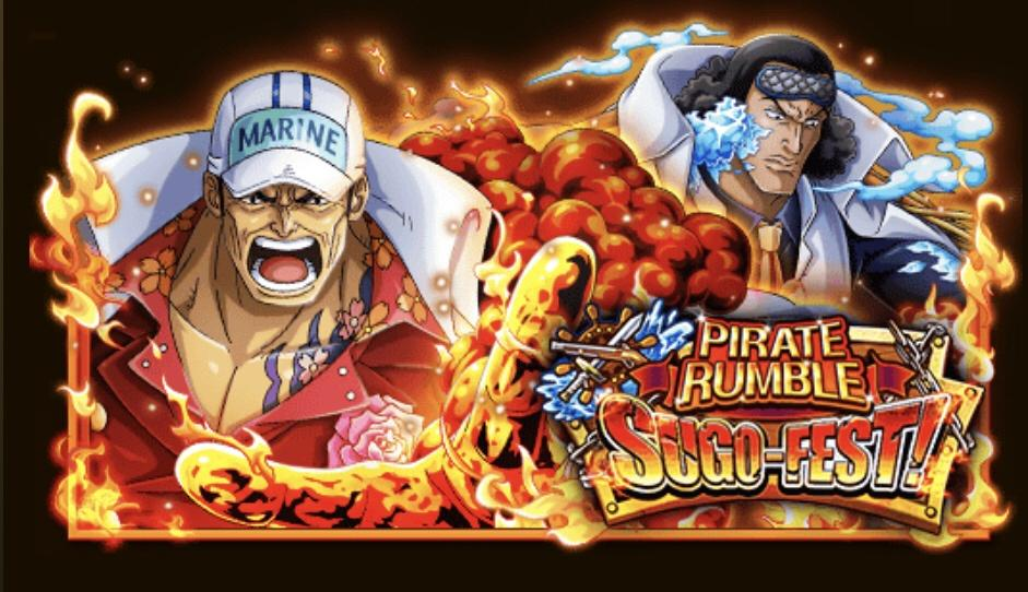 Treasure Cruise Sugo fest