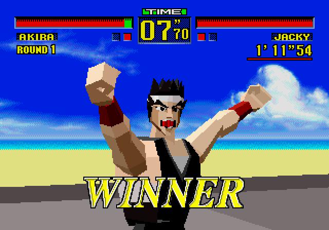 Virtua Fighter winner