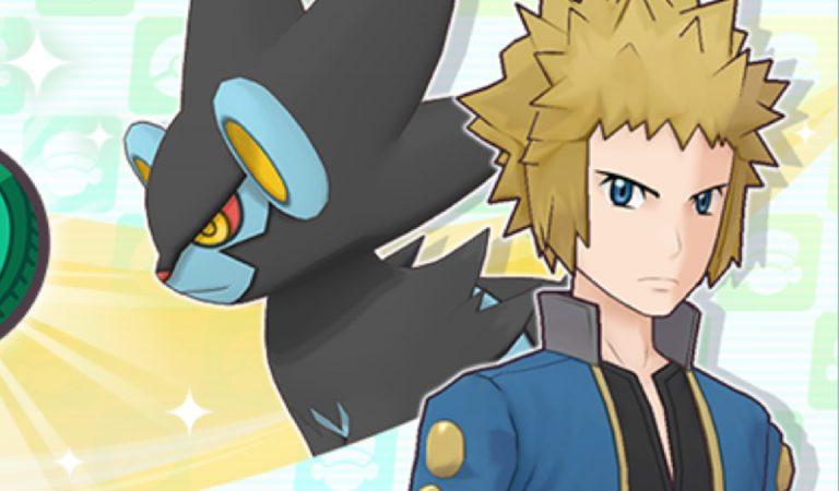 Pokémon Masters EX adiciona Volkner e seu poderoso Luxray