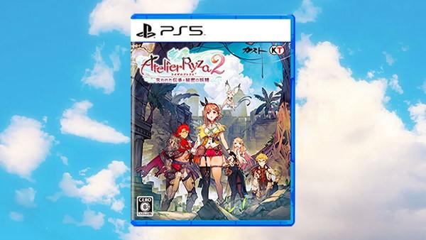 Capa de Atelier Ryza 2 para PS5