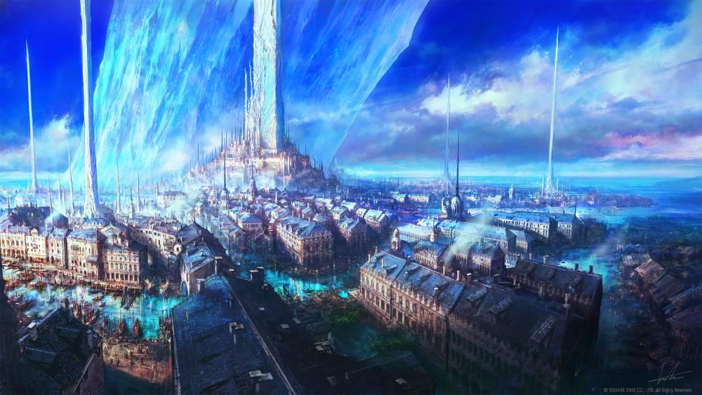 Arte de Final Fantasy XVI