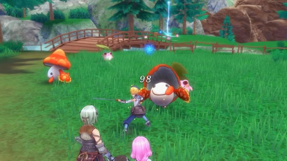 Captura de tela de Rune Factory 5