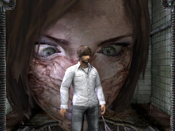 Silent Hill 4 gameplay