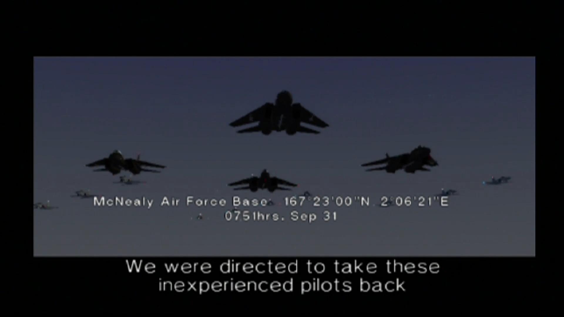 Ace Combat 5 esquadrão