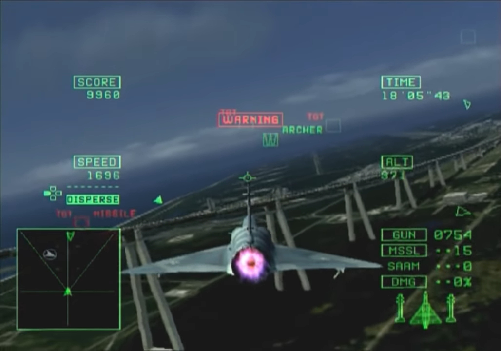 Ace Combat 5 gameplay