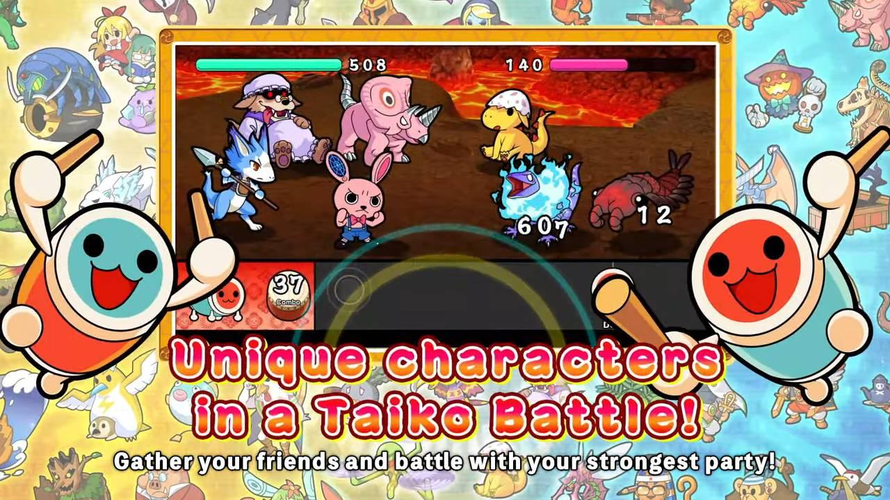 Taiko no Tatsujin Adventure gameplay