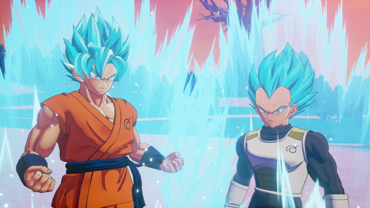 Kakarot Goku e Vegeta
