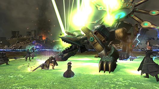 Final Fantasy XIV batalha