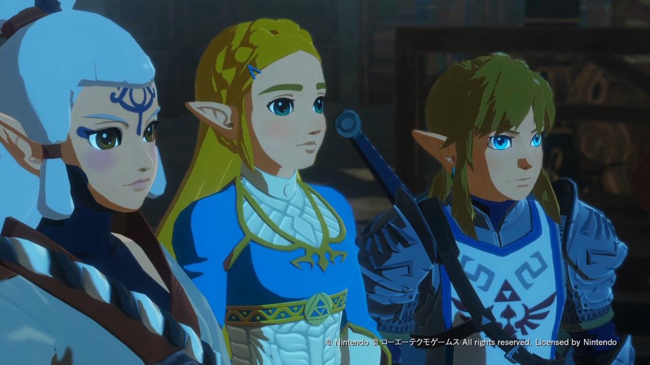 Hyrule Warriors trio