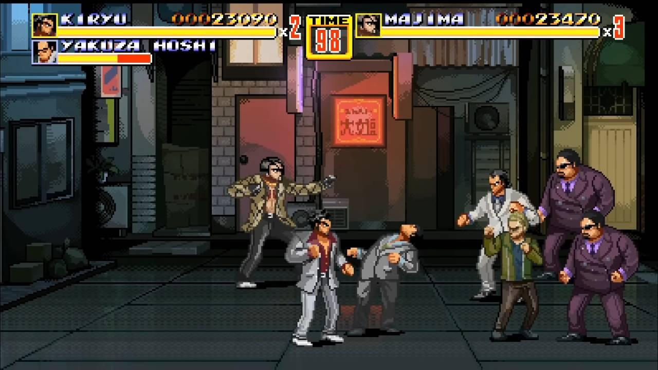 Streets of Kamurocho gameplay