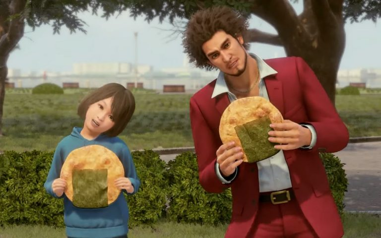 Yakuza: Like a Dragon biscoitos