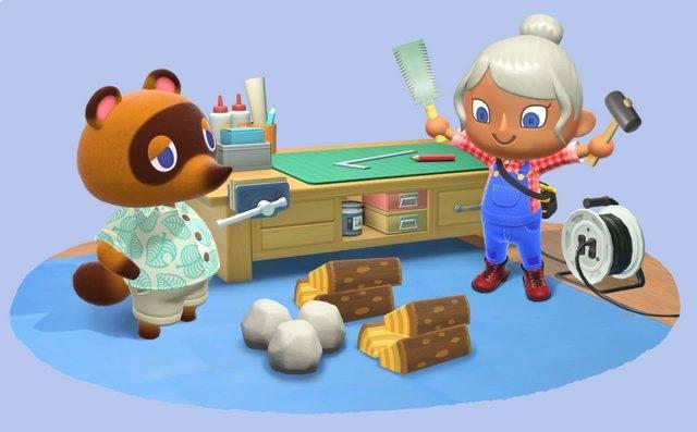 Arte conceitual de Animal Crossing: New Horizons
