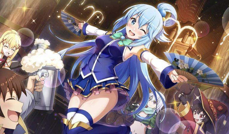 RPG mobile KonoSuba: Fantastic Days chegará ao ocidente em 2021
