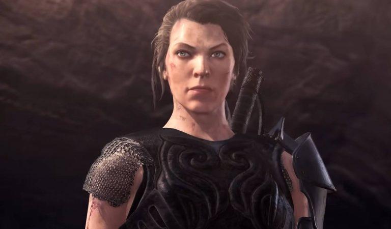 Monster Hunter World: Iceborne terá personagem de Milla Jovovich