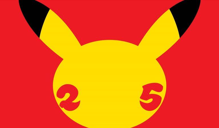 Pokémon está se preparando para seu aniversário de 25 anos