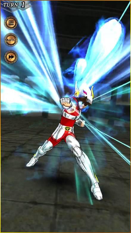 Screenshot de Saint Seiya: Shining Soldiers