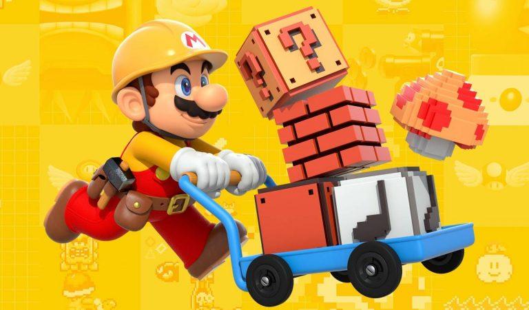 Super Mario Maker será removido da Nintendo eShop em janeiro