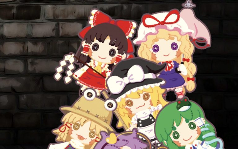 Touhou DollDraft bonecas