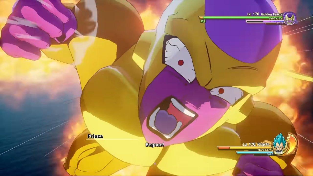 Dragon Ball Z Kakarot Freeza dourado