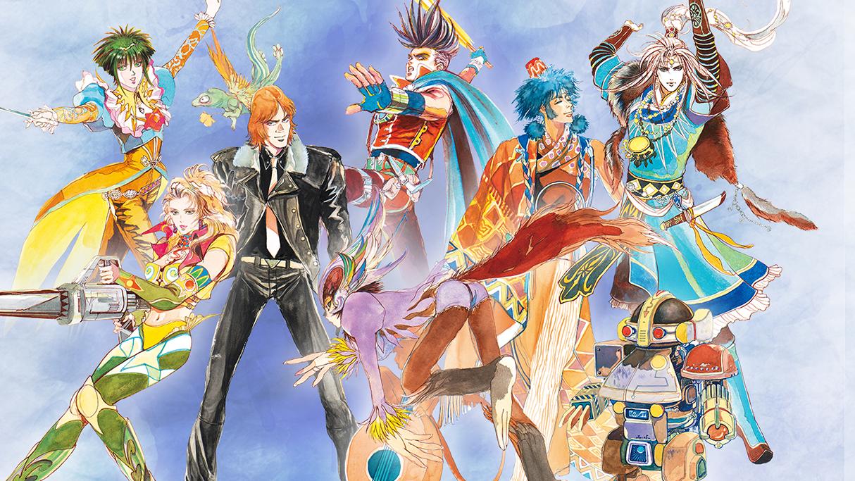 Saga frontier personagens
