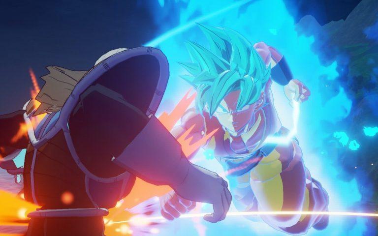 Dragon Ball Z Kakarot Goku Blue