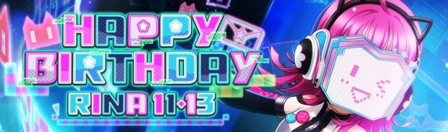 Rina aniversário