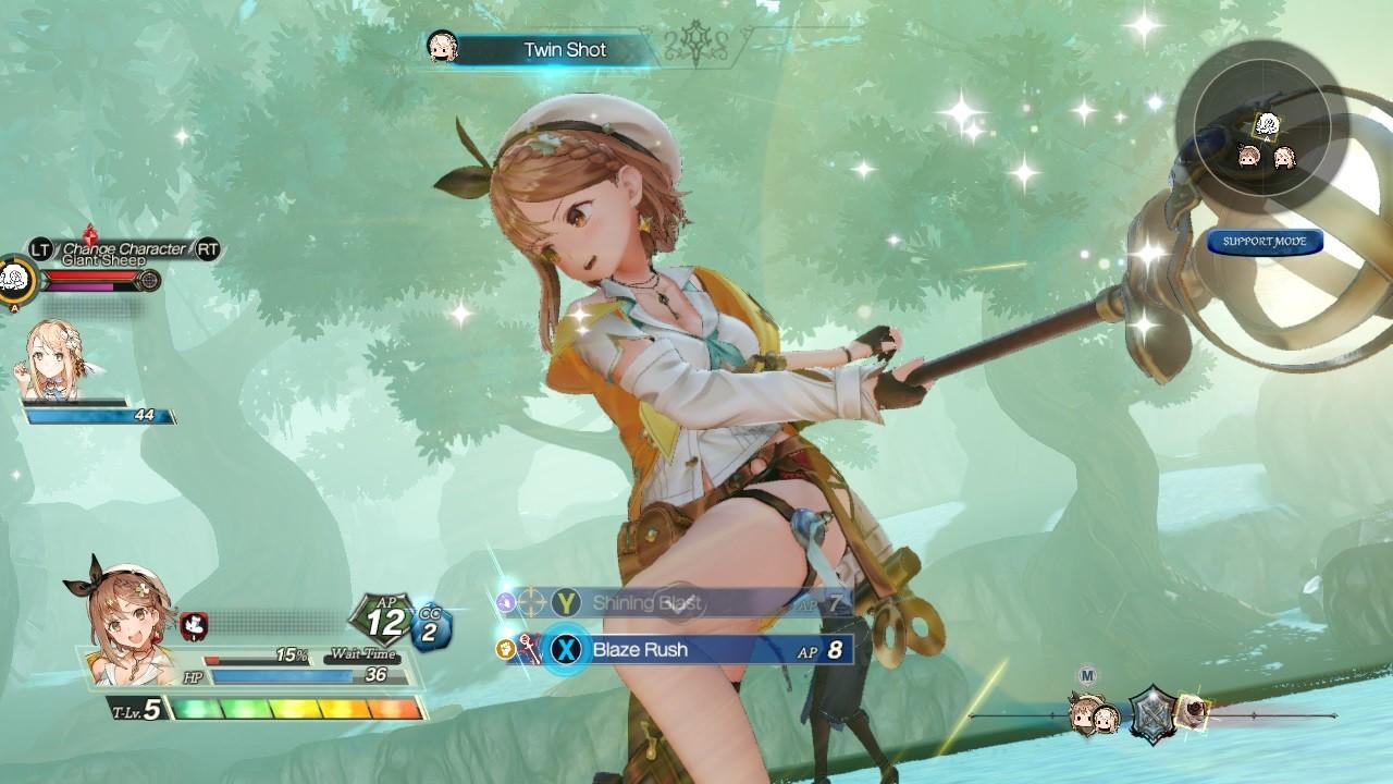 Atelier Ryza 2 combate