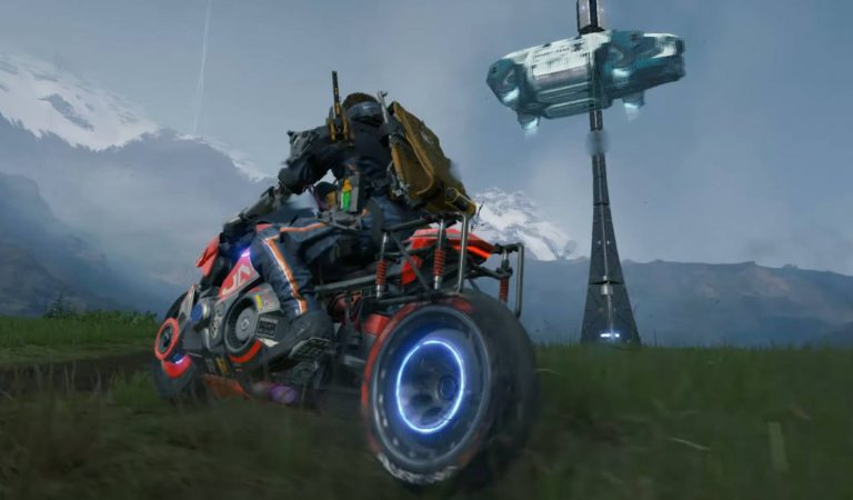 Death Stranding para PC recebe conteúdo de Cyberpunk 2077