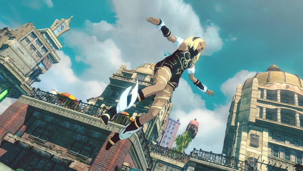 Screenshot de Gravity Rush 2