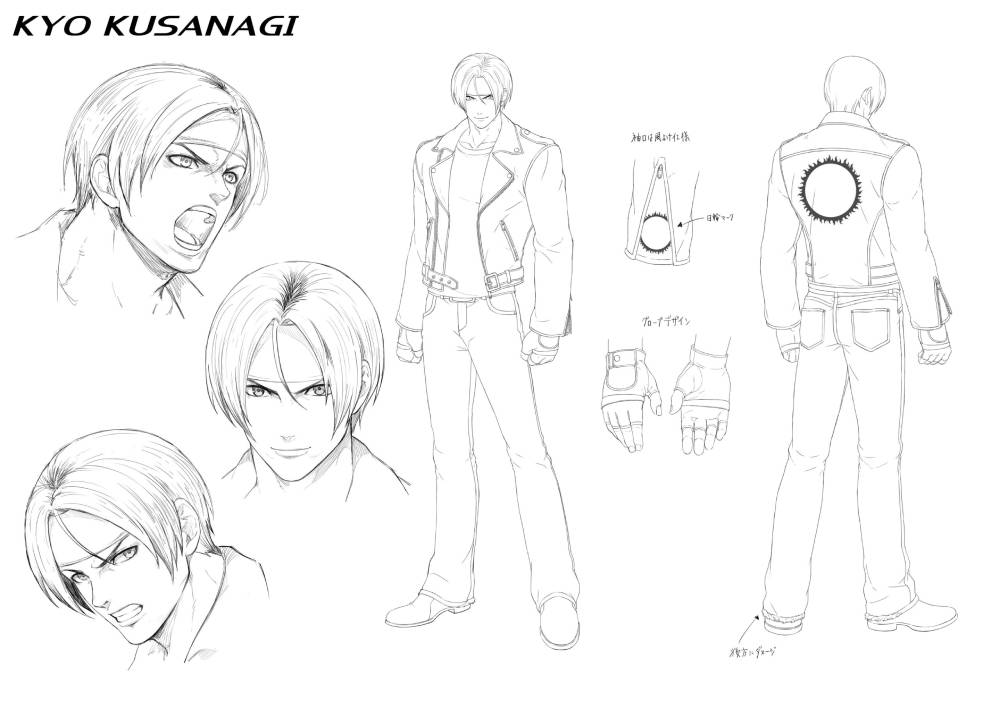Arte conceitual de The King of Fighters XV